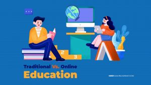 Traditional-Vs-Online-Education