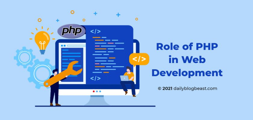 role of php