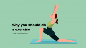 Why you should do a exercise