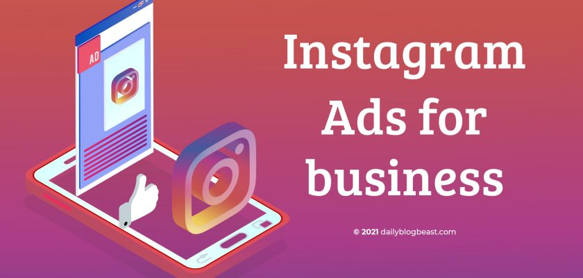 Instagram Ads for business